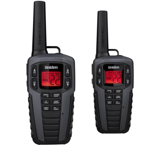 Uniden Two-Way Radio Walkie Talkie
