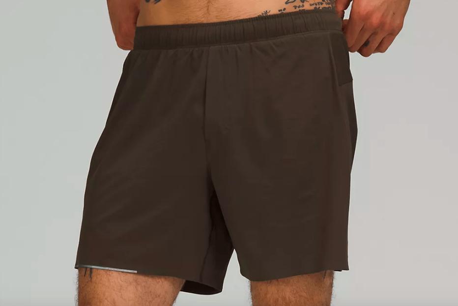 lululemon mens running shorts