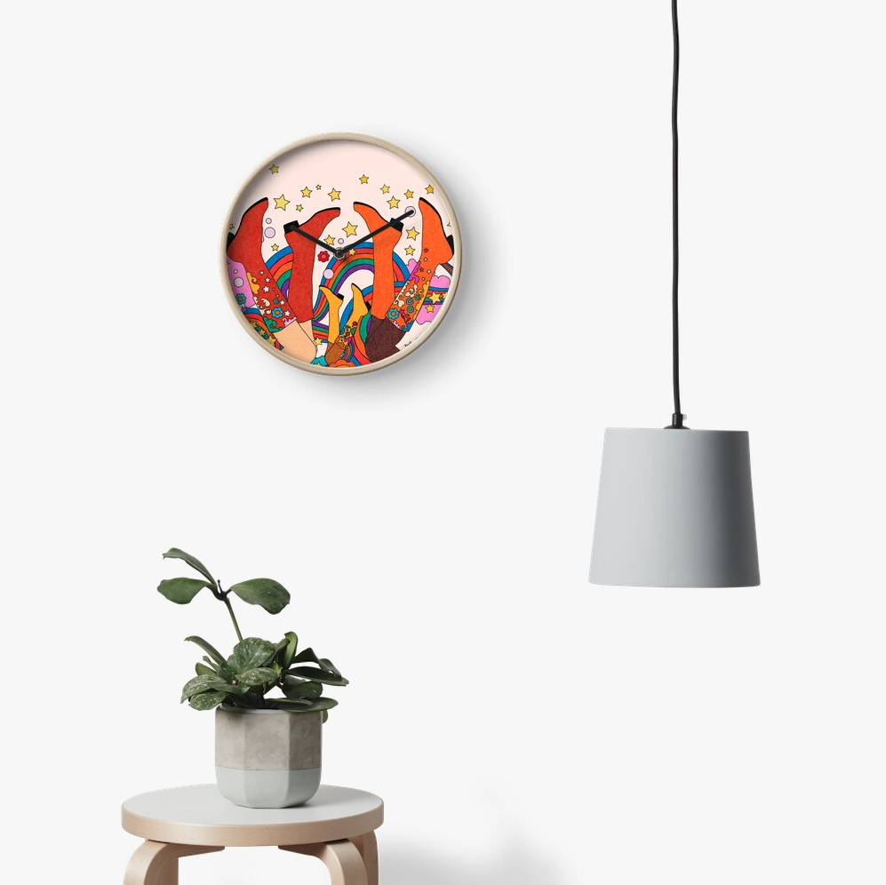 ALL COLORS ARE BEAUTIFUL Clock