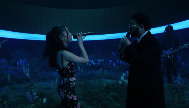 Watch The Weeknd Join Ariana Grande in 'Off the Table' Live Video.jpg