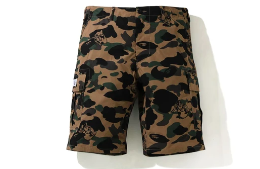 BAPE Camo Shorts