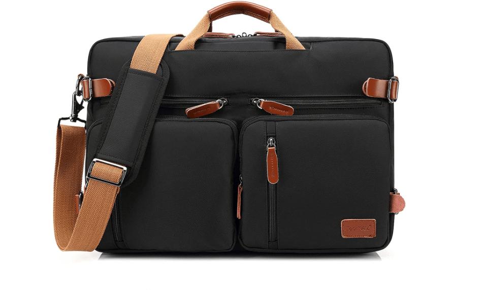 CoolBELL Convertible Backpack Messenger Bag