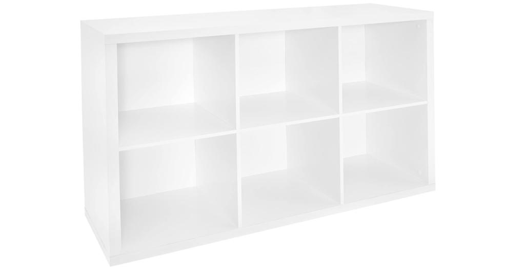 ClosetMaid 1109 6-Cube Storage Organizer
