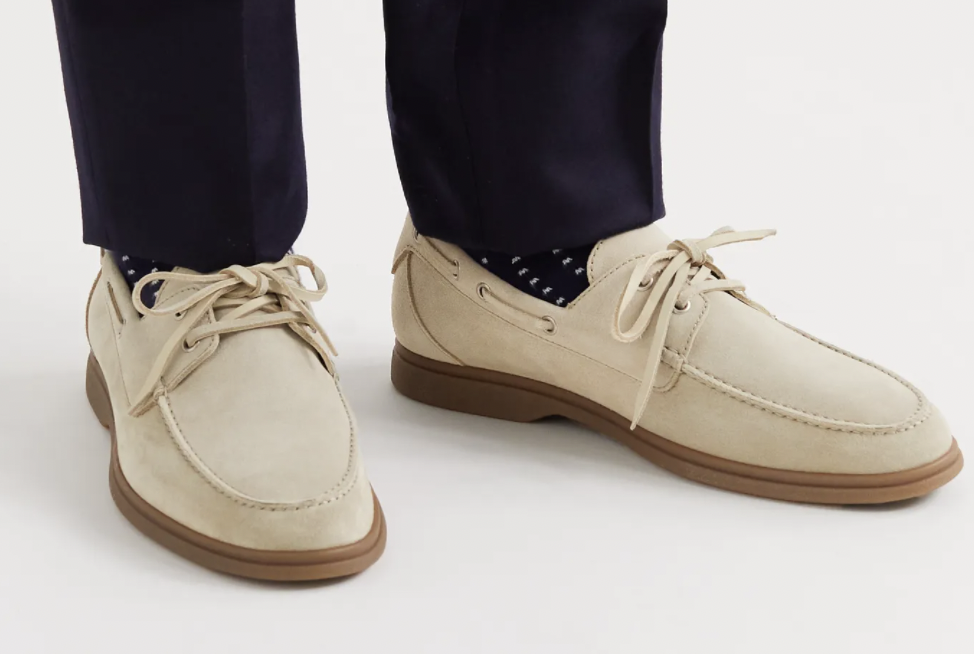 boat shoes suede designer