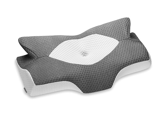 Elviros-Cervical-Memory-Foam-Pillow-Contour-Pillows-for-Neck-and-Shoulder-Pain-Ergonomic-Orthopedic-Sleeping-Neck-Contoured-Support-Pillow-for-Side-Sleepers-Back-and-Stomach-Sleepers-Dark-Grey