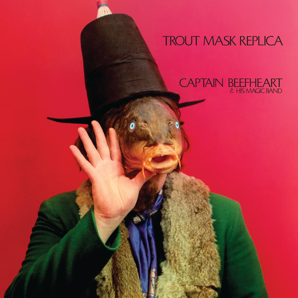 The newly revamped cover for 'Trout Mask Replica.'