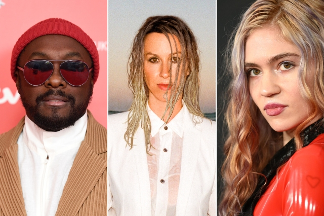 Grimes, Alanis Morissette, Will.i.am to Judge 'Alter Ego' Reality Singing Competition.jpg