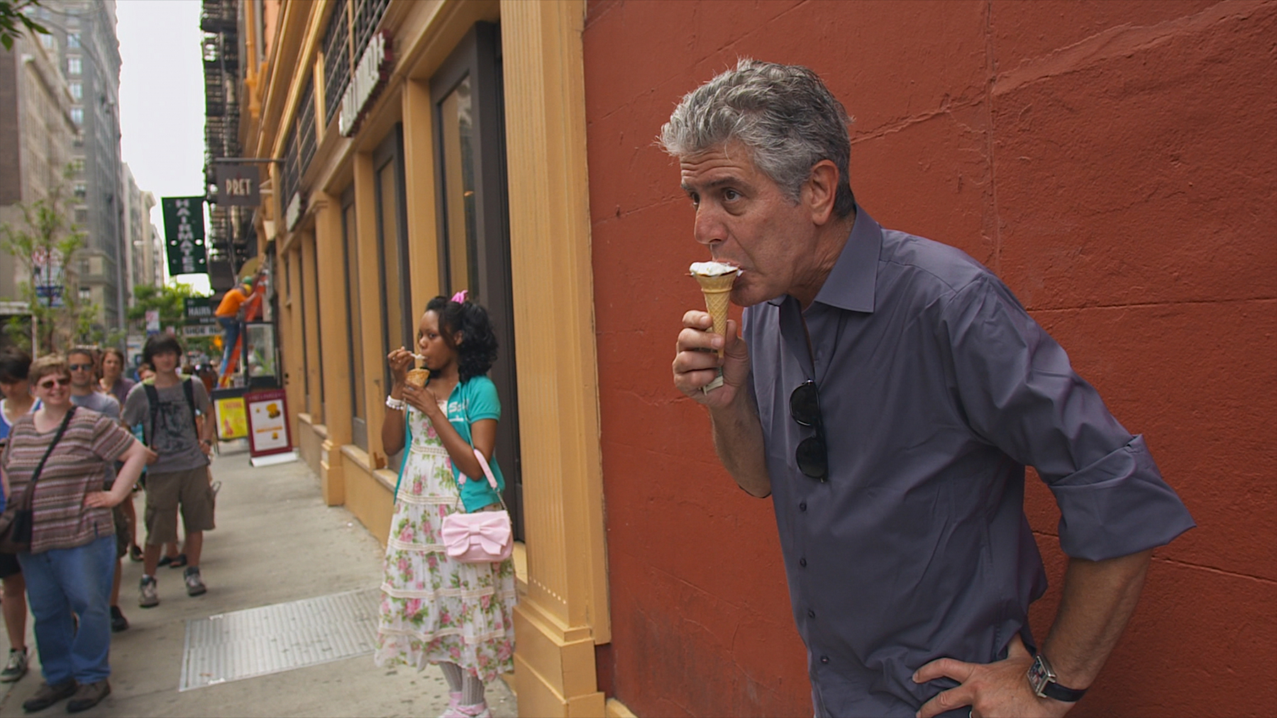 Anthony Bourdain stars in Morgan Neville's documentary, ROADRUNNER, a Focus Features release. Courtesy of Focus Features, in association with Zero Point Zero