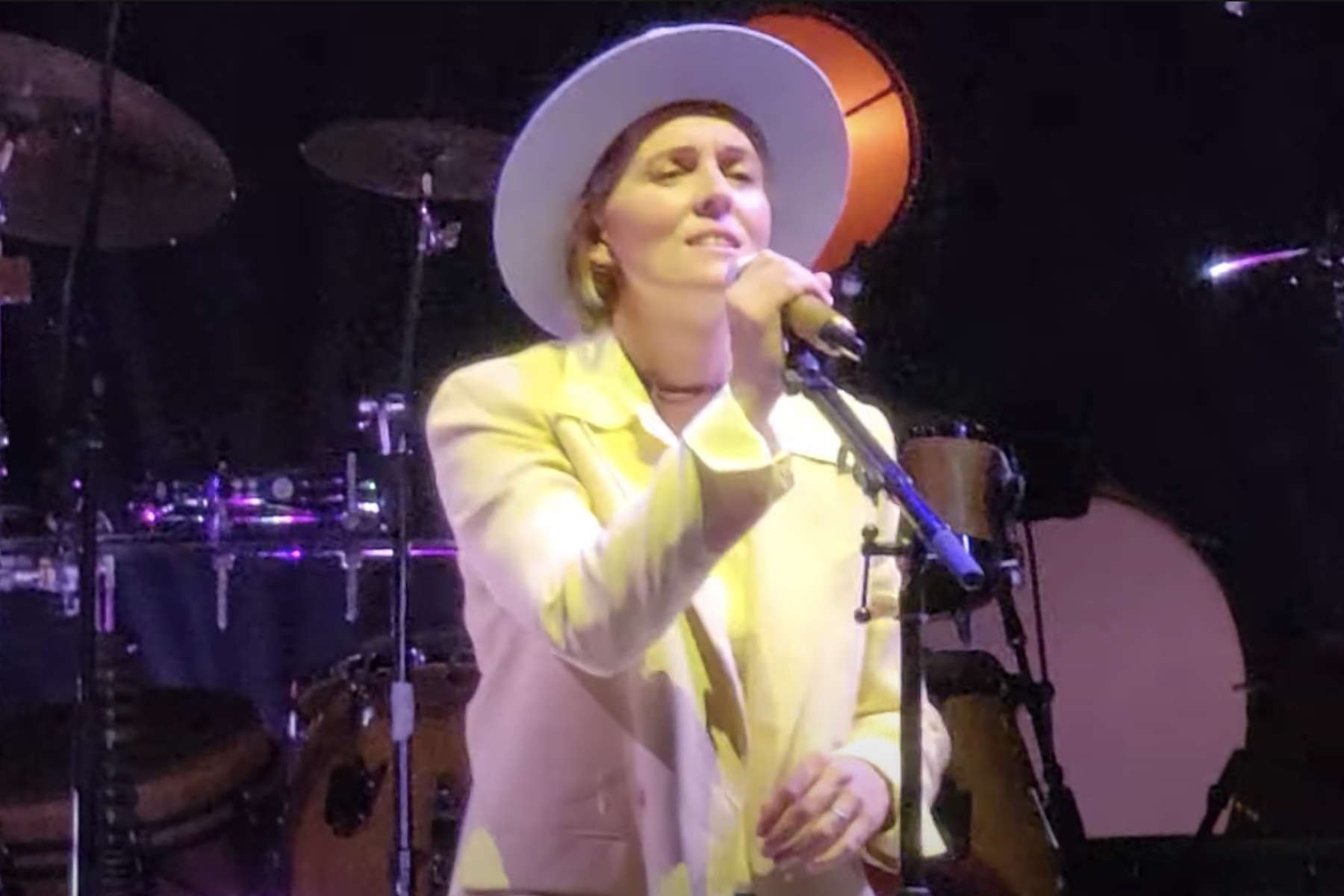 Brandi Carlile Performs 'In These Silent Days' Songs at Forest Hills Stadium Show