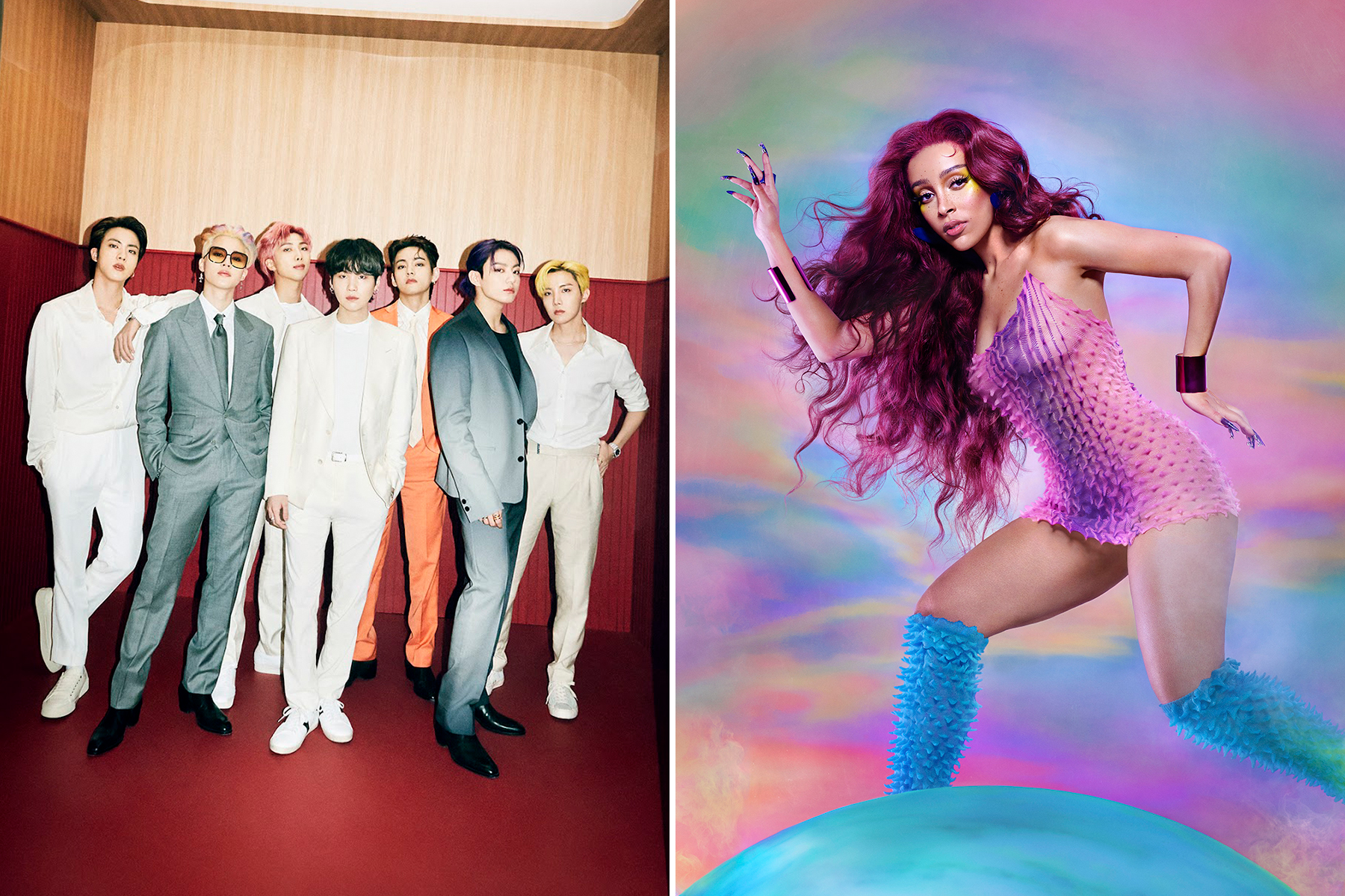 BTS, Doja Cat, and More to Perform at Global Citizen Live 2021