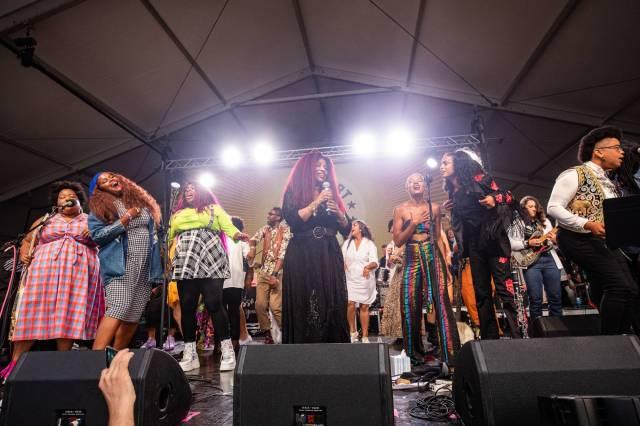 Chaka Khan Sings 'I'm Every Woman' With Allison Russell, Yola, and Amythyst Kiah at Newport Folk Festival.jpg