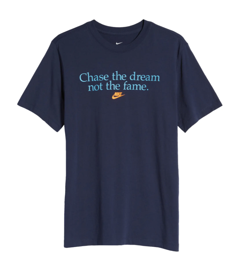 chase-the-dream-graphic-nike-best-slogan-t-shirts-tee
