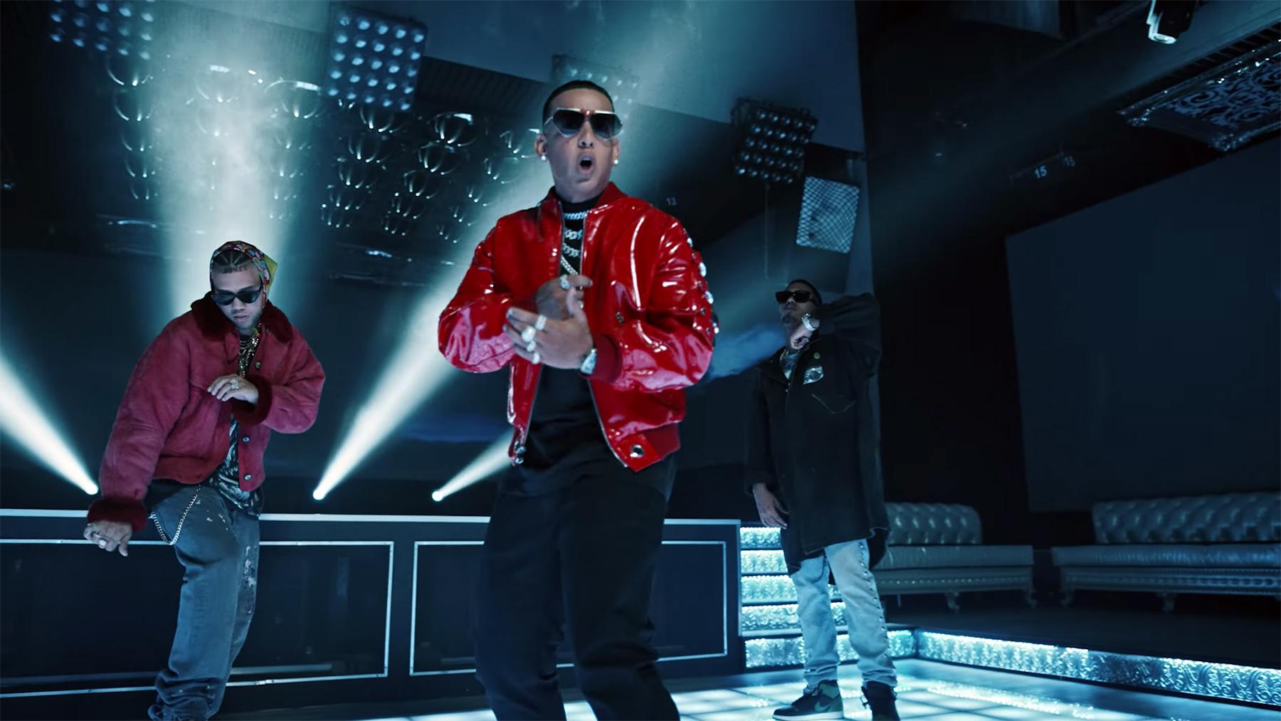 Daddy Yankee, Myke Towers, and Jhay Cortez Party in a Vampire Underworld on Surprise Track 'Súbele El Volumen'