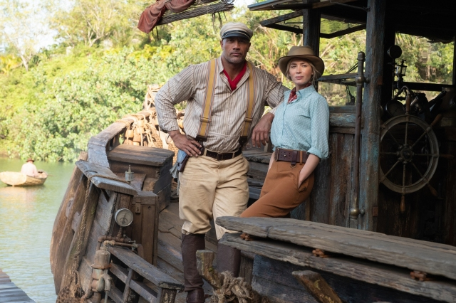 'Jungle Cruise': The Rock and Emily Blunt Go Up the Disney River, Without a Paddle.jpg