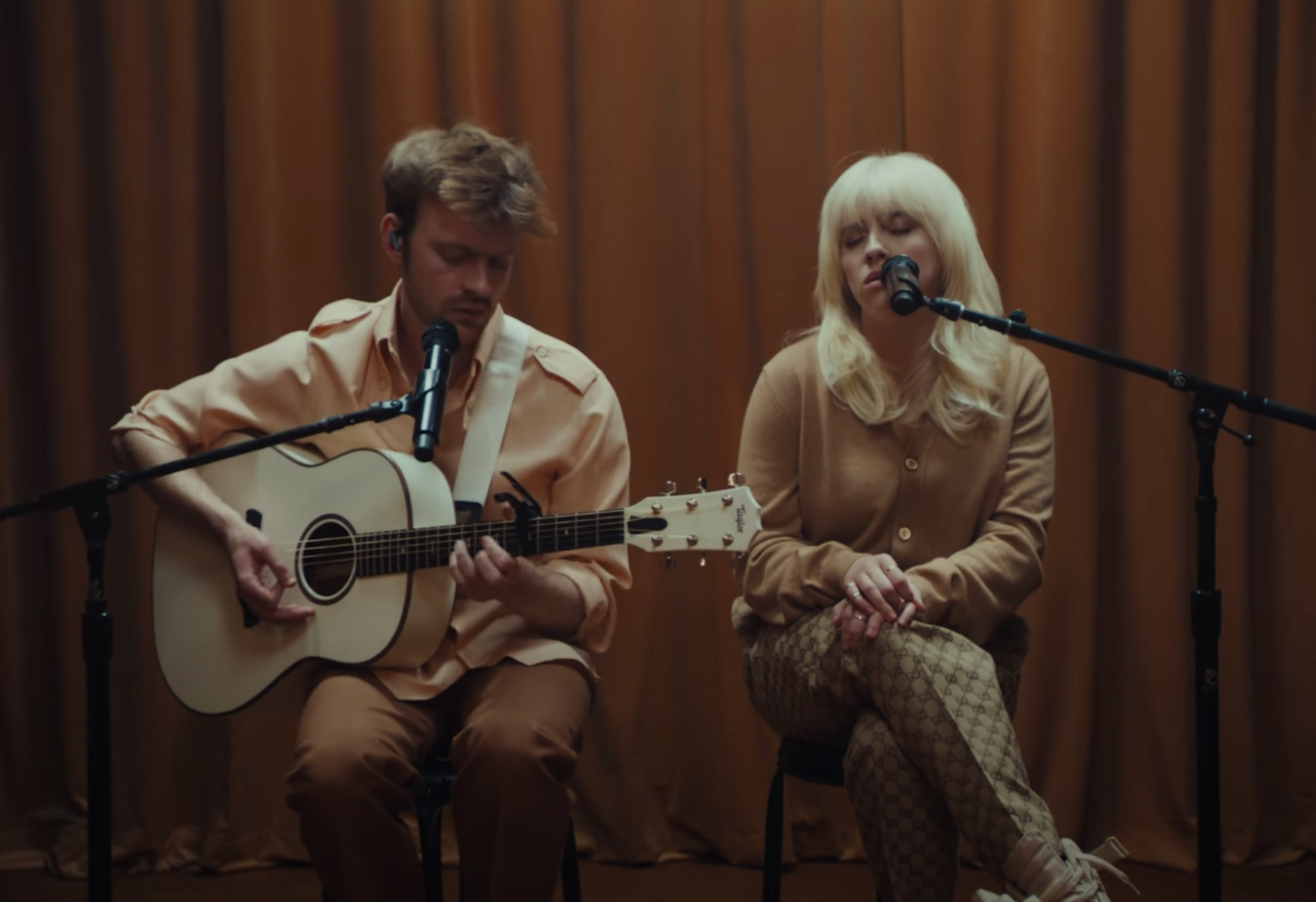 See Billie Eilish and Finneas Perform Acoustic Live Version of 'Your Power' - Rolling Stone