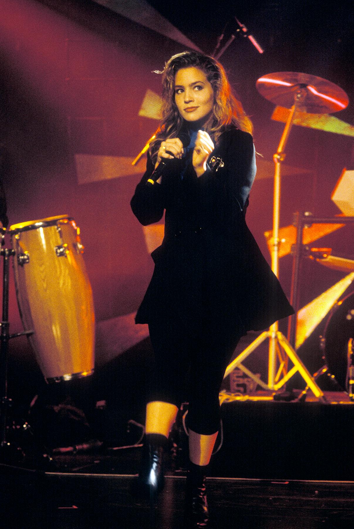 Jazzfestival Montreux 1988: Elisa Fiorillo (Photo by Bruno Torricelli/RDB/ullstein bild via Getty Images)