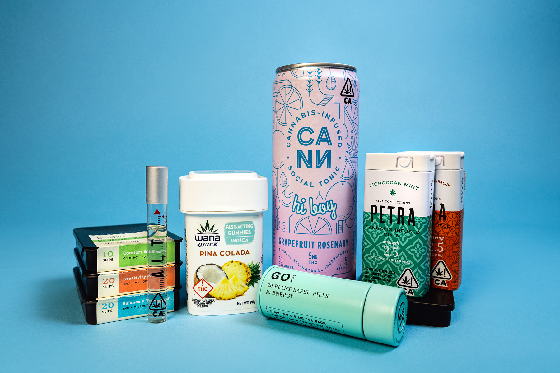 Best Cannabis Products to Get High on the Go