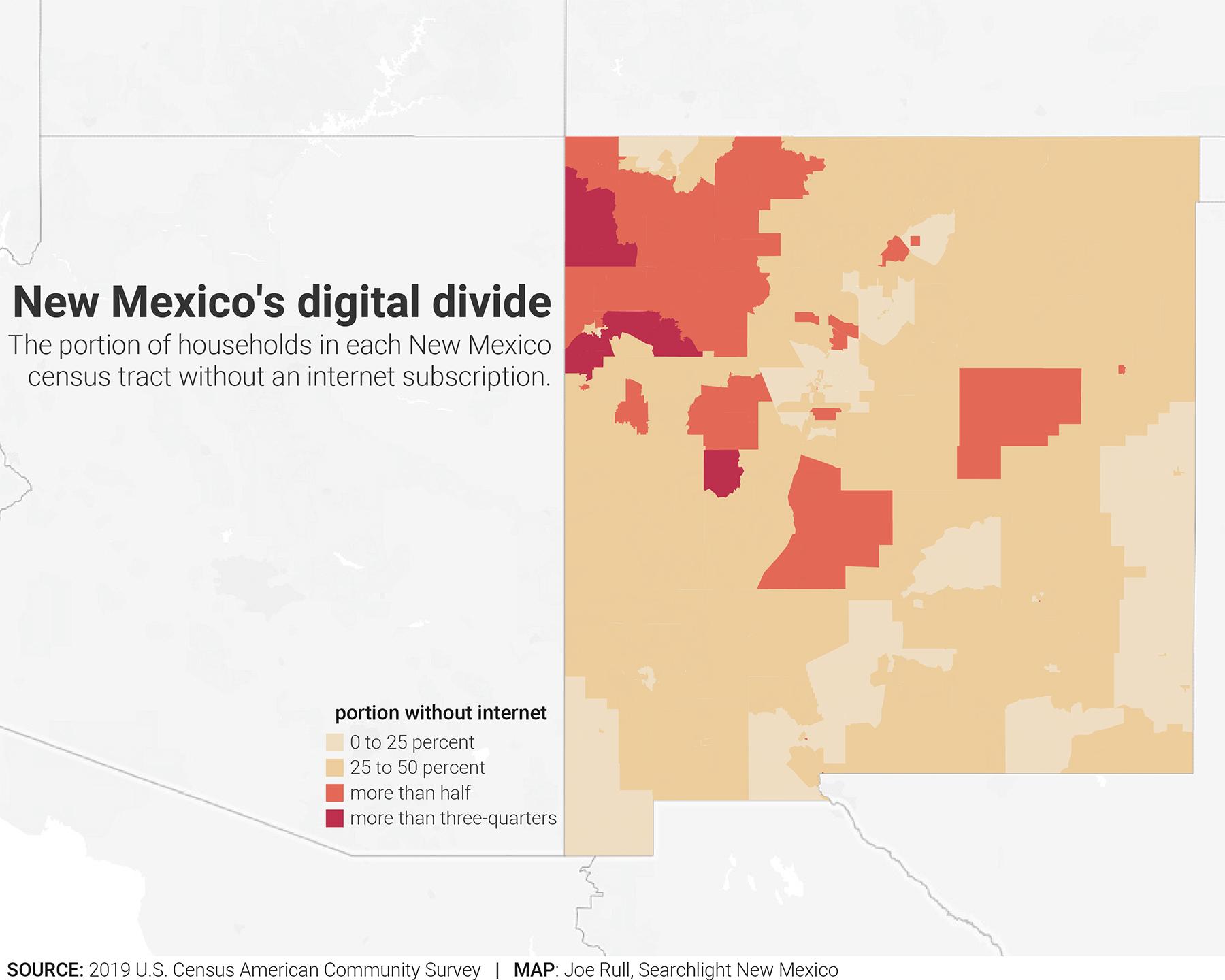 new mexico internet access
