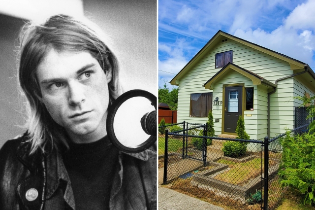 Kurt Cobain's Childhood Home Is Officially a Landmark — and an Exhibit Is on the Way.jpg