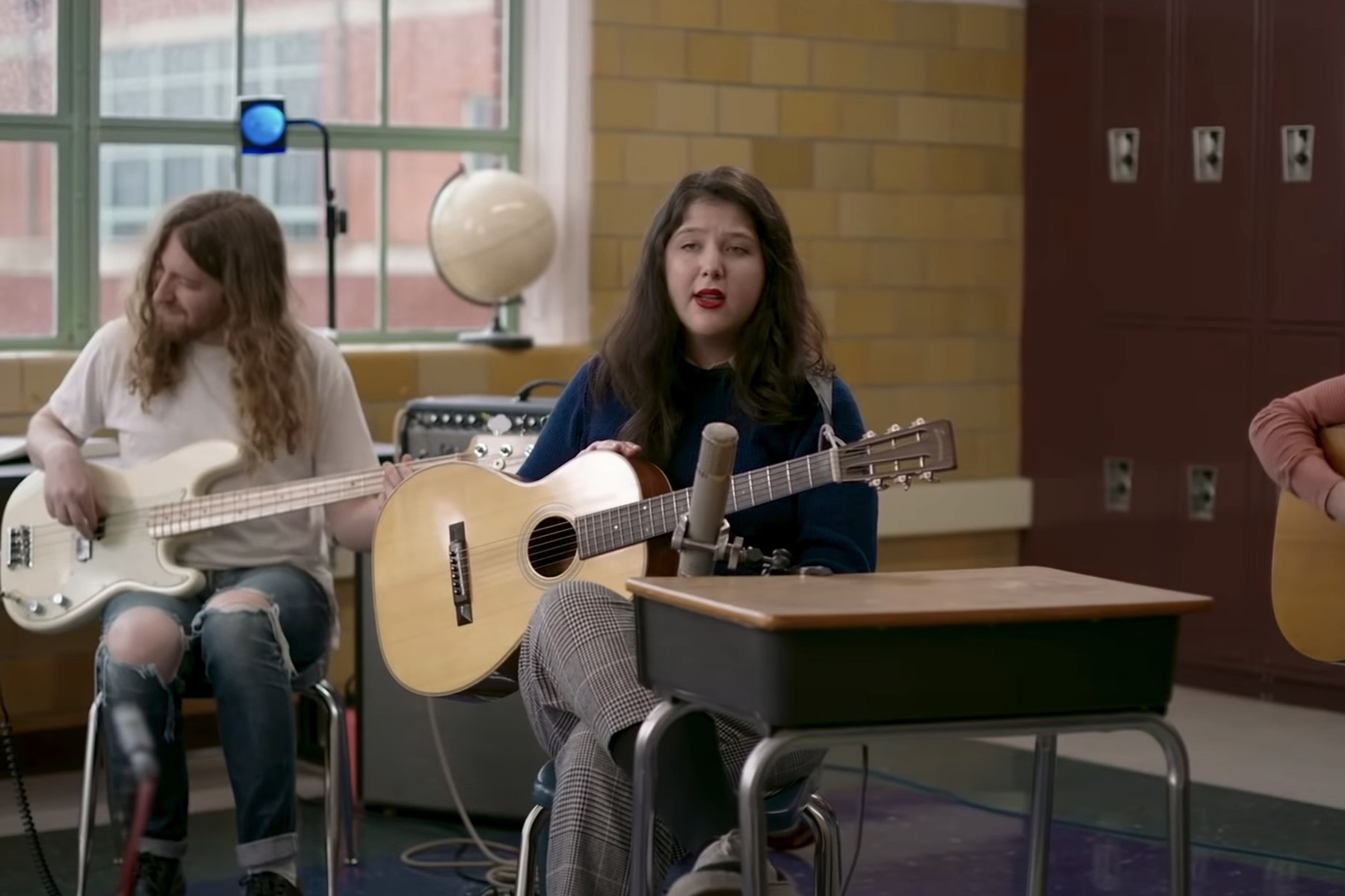 Lucy Dacus Returns to Her High School for NPR 'Tiny Desk Concert'