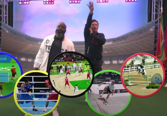Watch Jimmy Fallon, the Roots' Tariq Trotter Celebrate 'This Olympics' on 'Tonight Show'.jpg