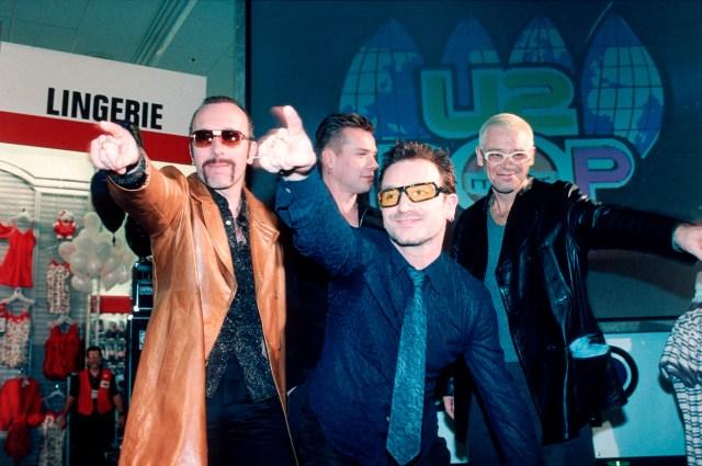 Flashback: U2 Launch 1997 PopMart Tour at Kmart Lingerie Department.jpg