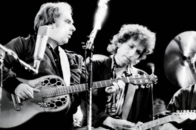 Flashback: Bob Dylan Sings 'It's All Over Now, Baby Blue' and 'Tupelo Honey' With Van Morrison.jpg