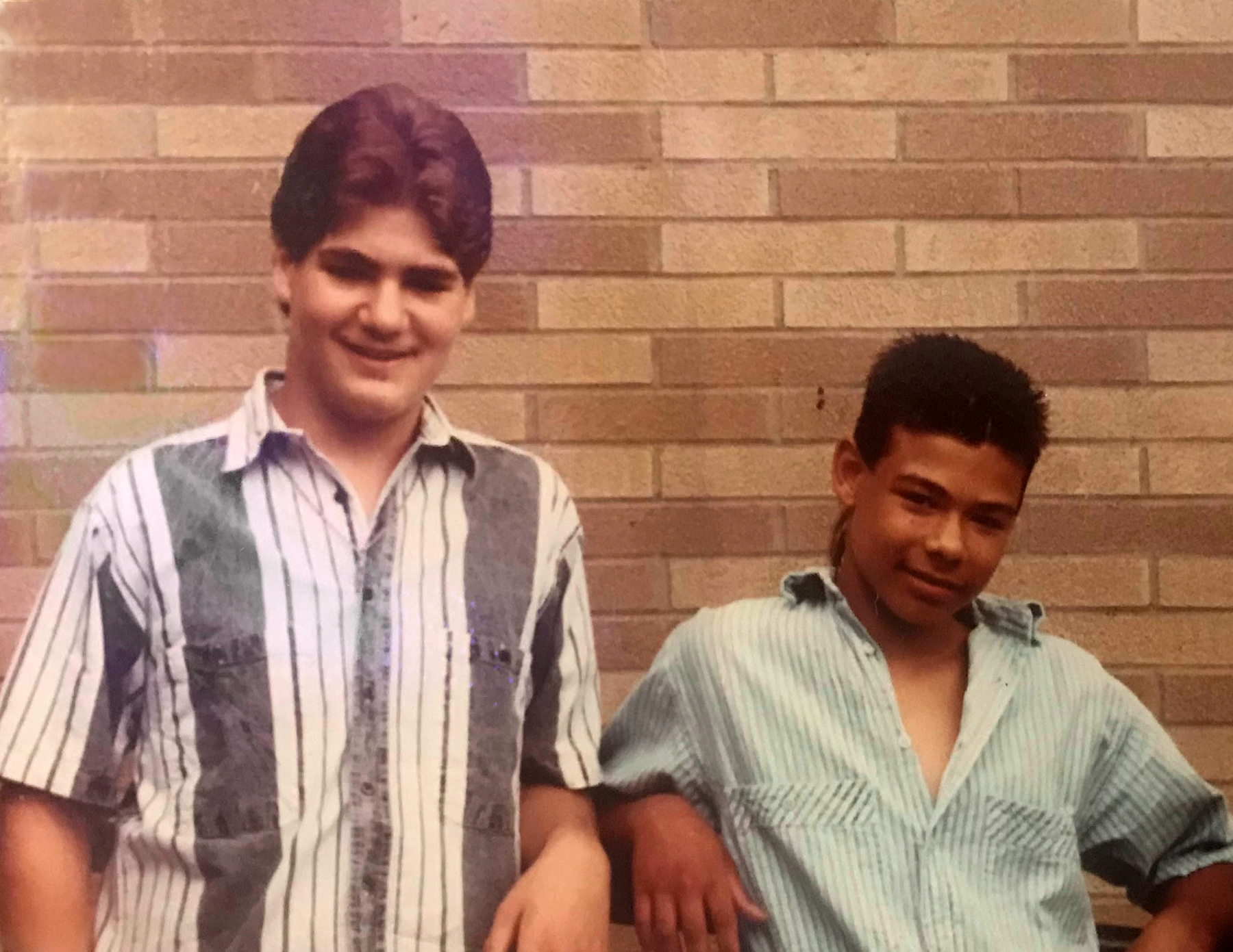 LOST BOYS: Anthony DiPippo (left) and Andrew Krivak