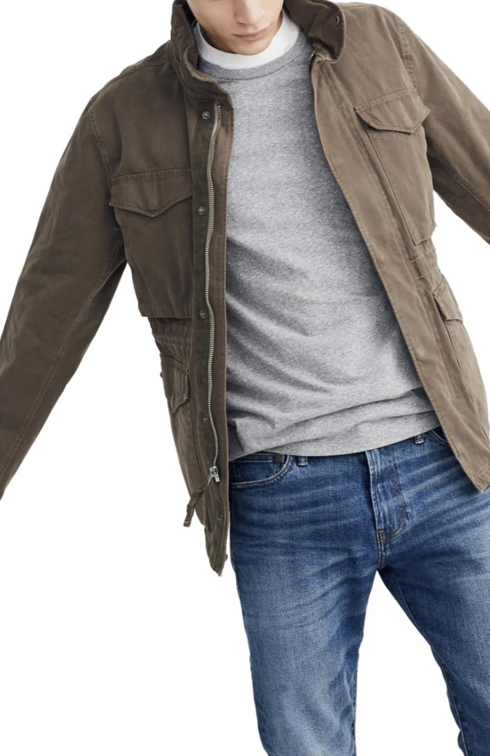 field jacket men's madewell