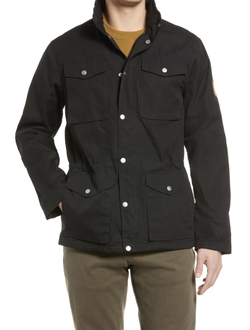 black field jacket men's