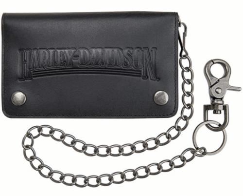 harley davidson chain wallet