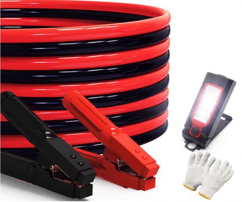 AutoGen Heavy Duty Jumper Cables 0 Gauge x 30Ft