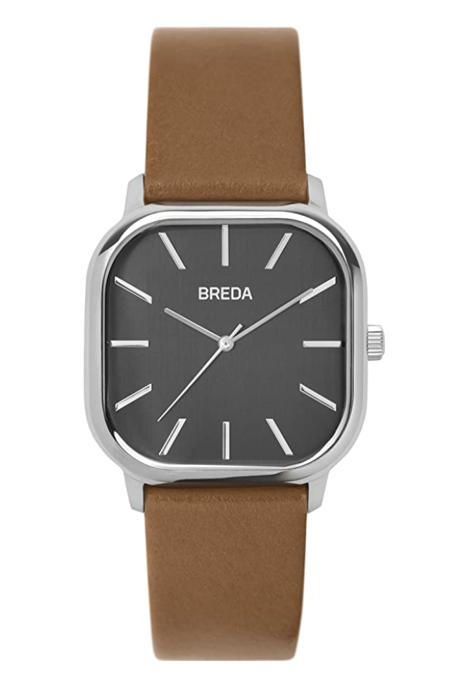 square watch leather strap