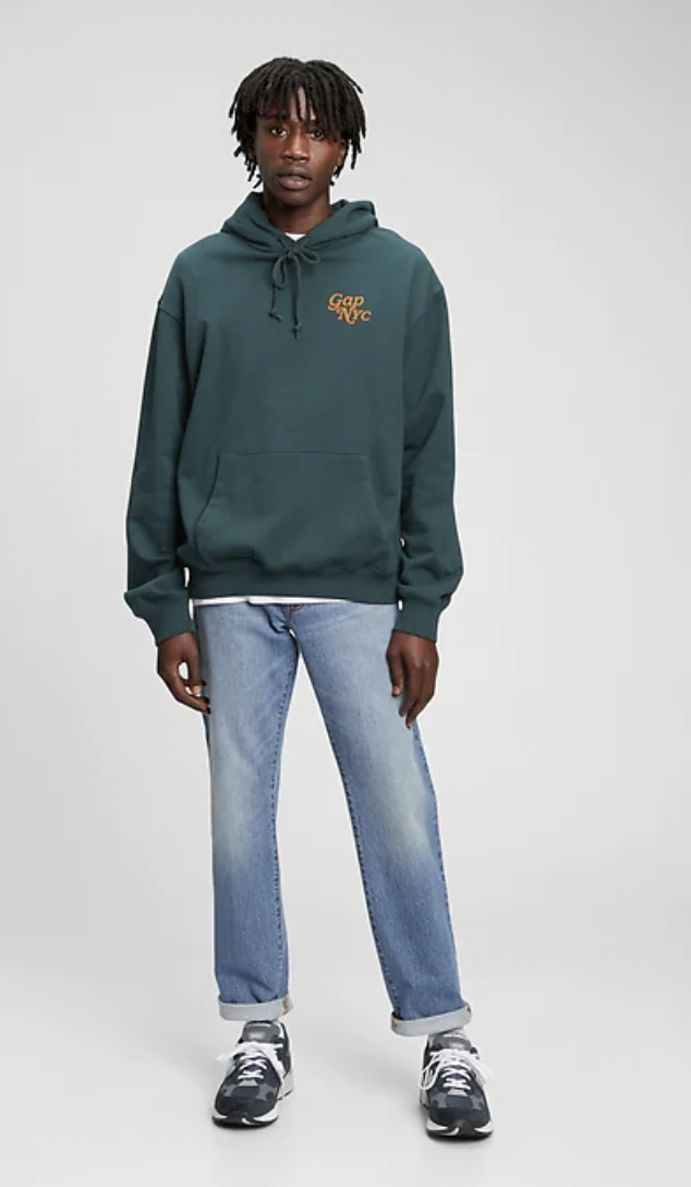 straight fit jeans mens gap