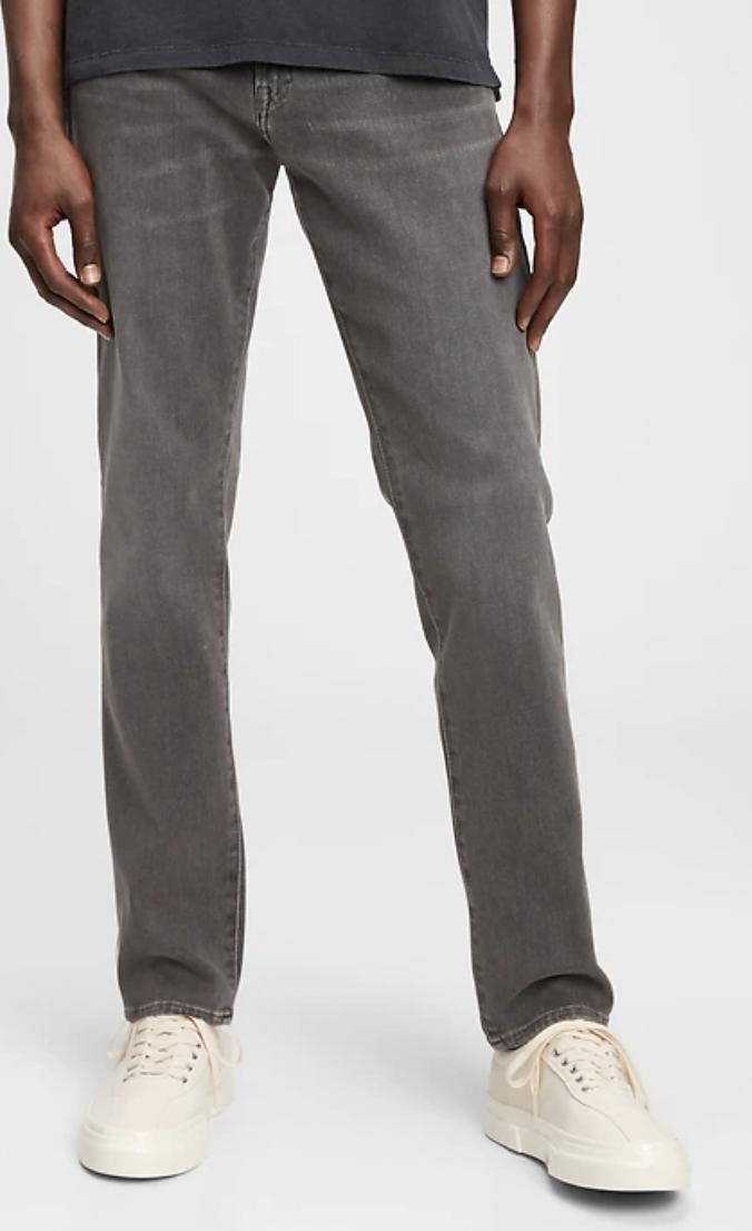 slim jeans grey men's