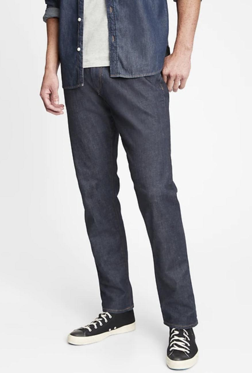 comfortable jeans mens gap