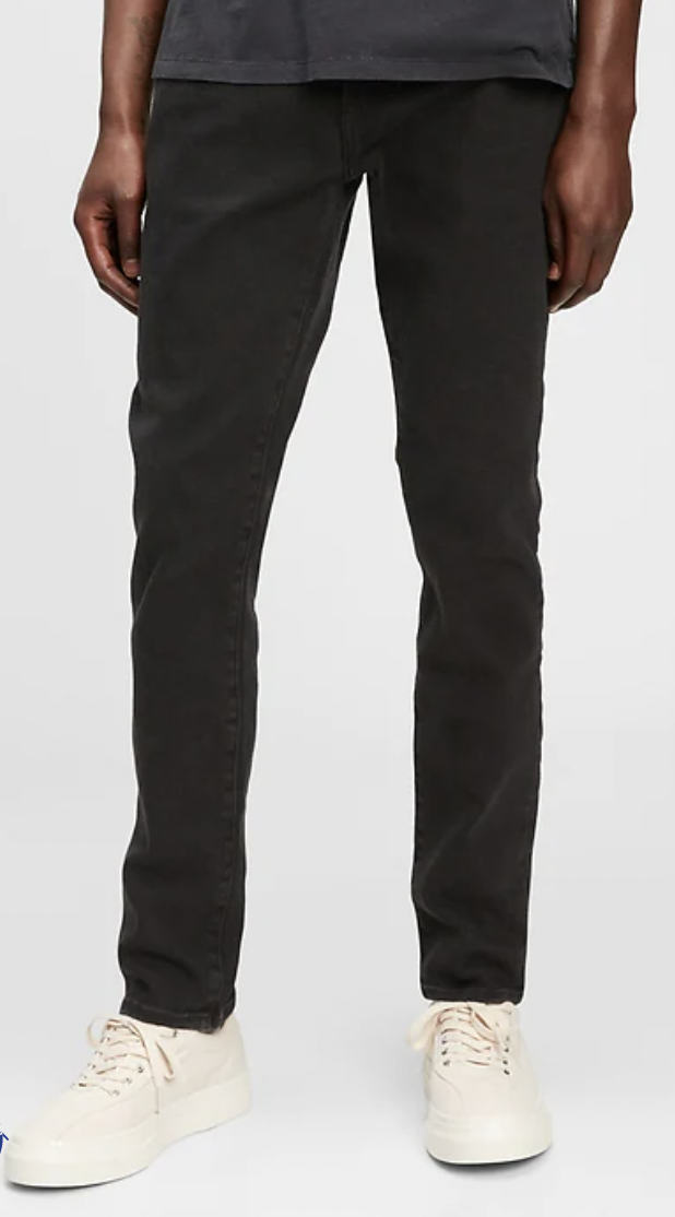 black skinny jeans mens