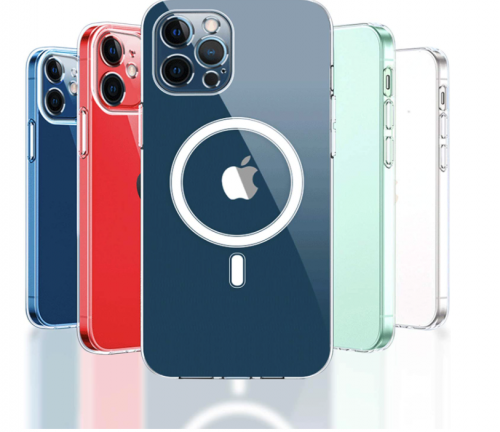 KIKET Magnetic Clear Case for iPhone 12 & iPhone 12 Pro