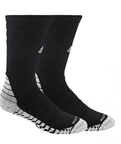 Adidas unisex-adult Alphaskin Traxion Maximum Cushioned Crew Sock