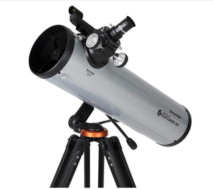 Celestron – StarSense Explorer DX 130AZ Smartphone App-Enabled Telescope