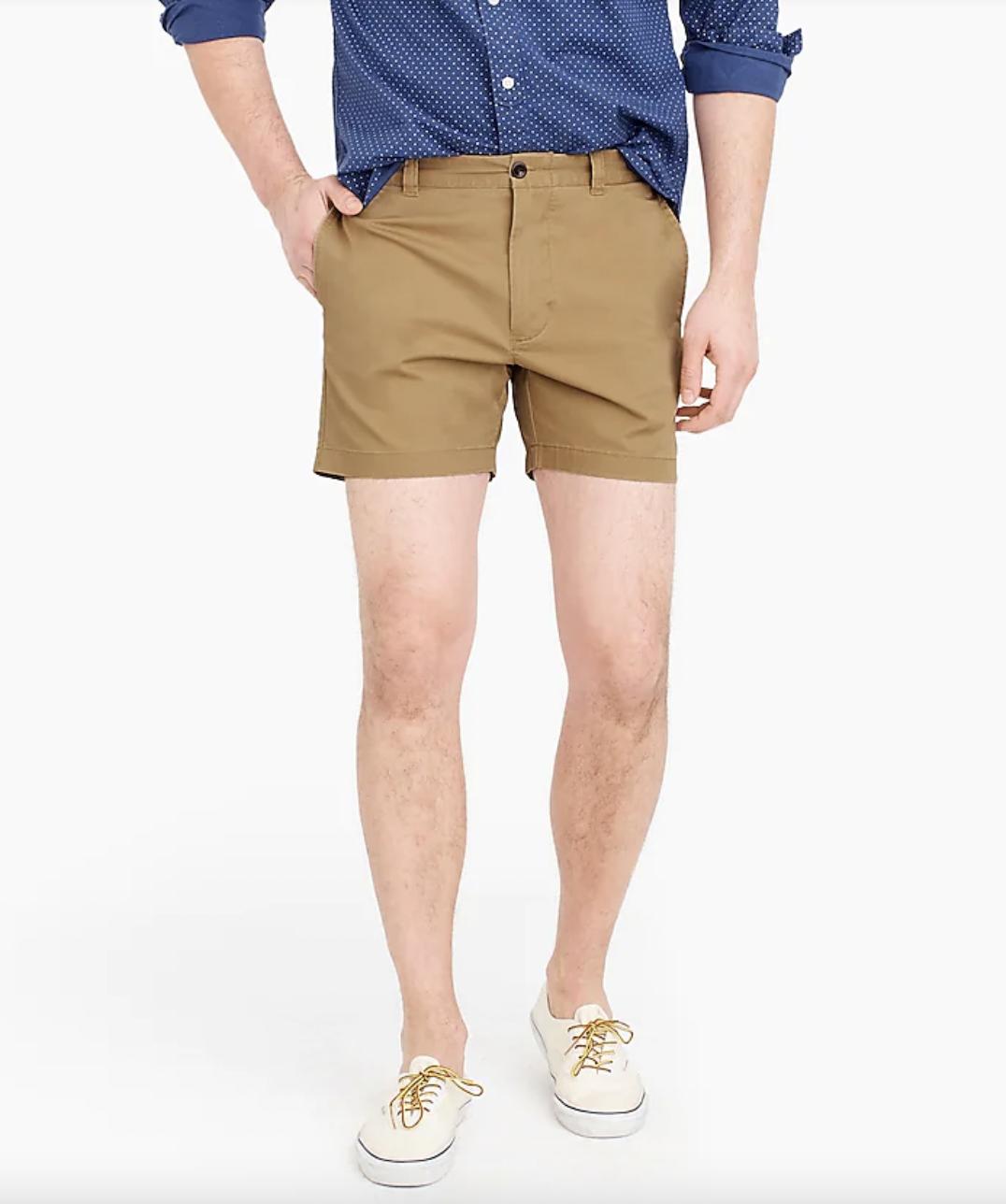mens short shorts chino