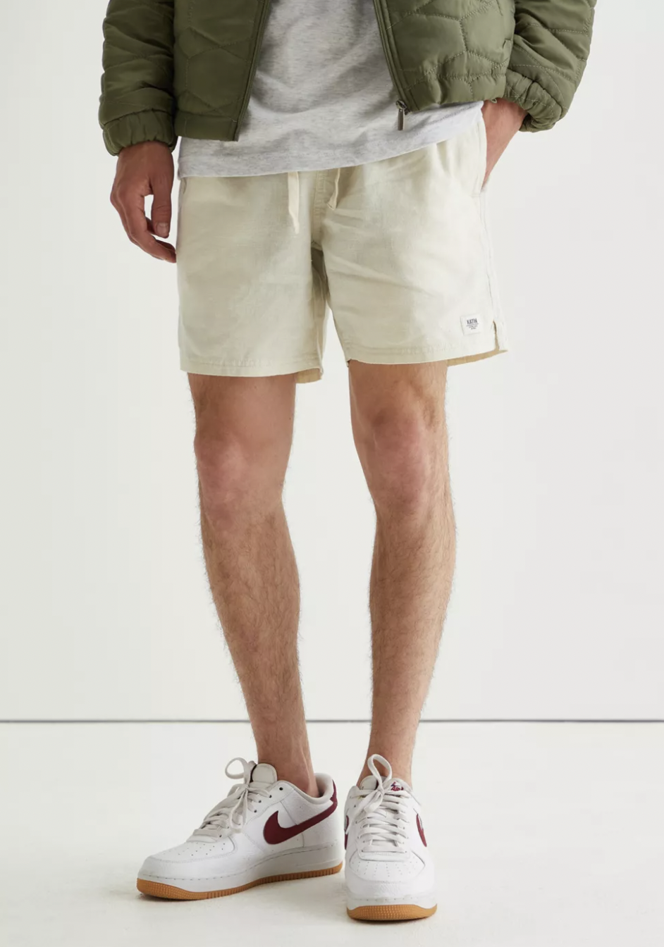 mens shorts linen