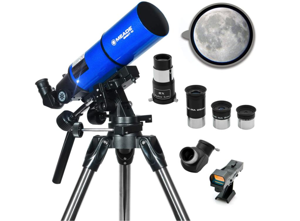 Meade Instruments – Infinity 80mm Aperture, Portable Refracting Astronomy Telescope