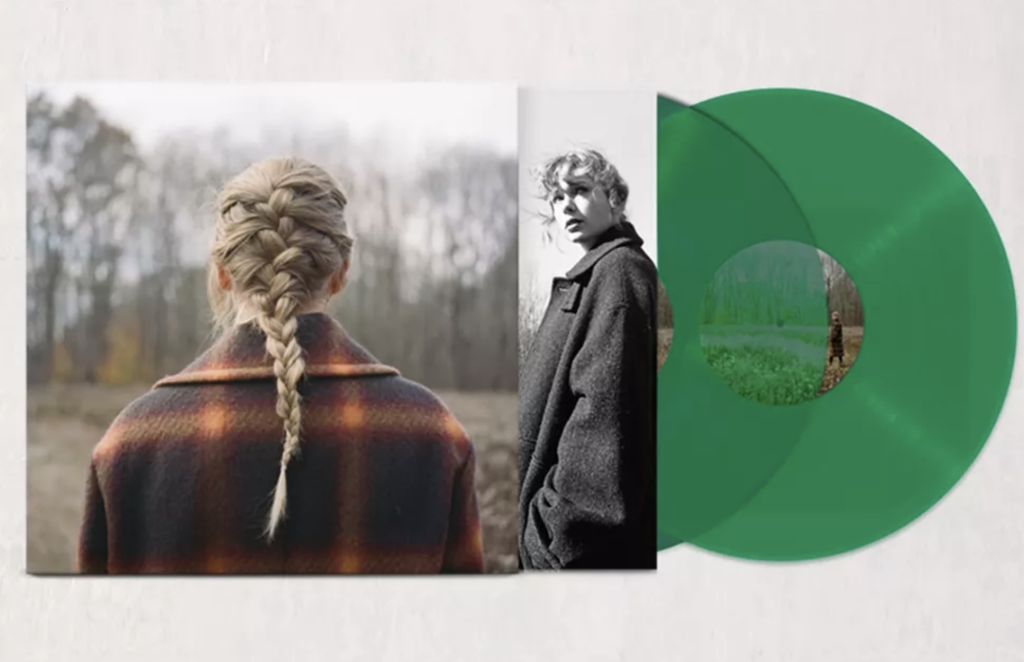 taylor swift evermore vinyl urban outfitters