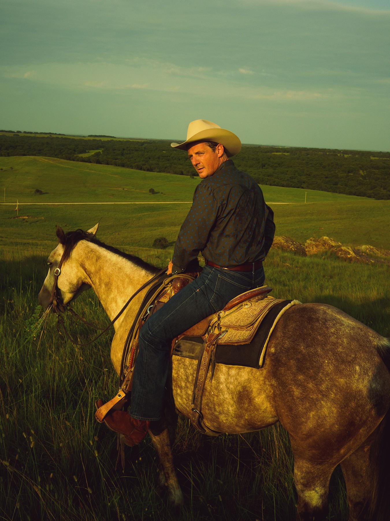 Sturgill Simpson in Oklahoma, August 2021.