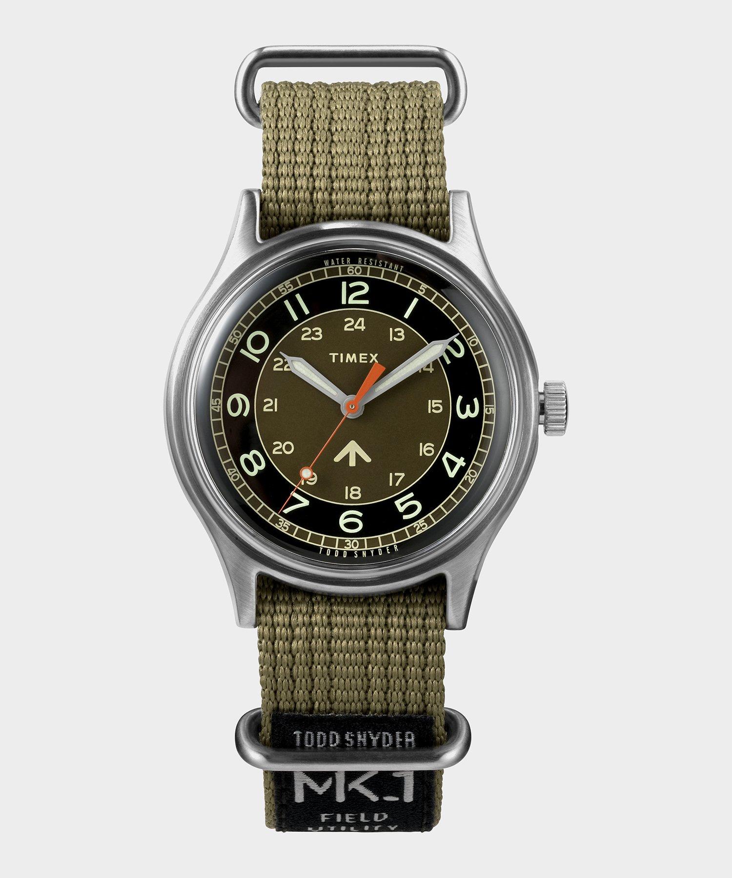 military watch men's timex