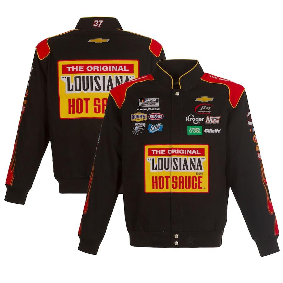 nascar racing jacket black