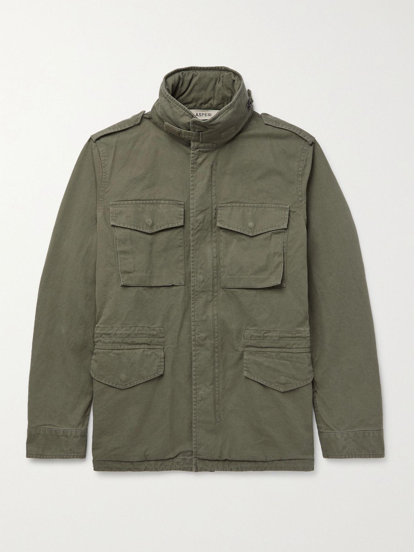 Green field jacket designer