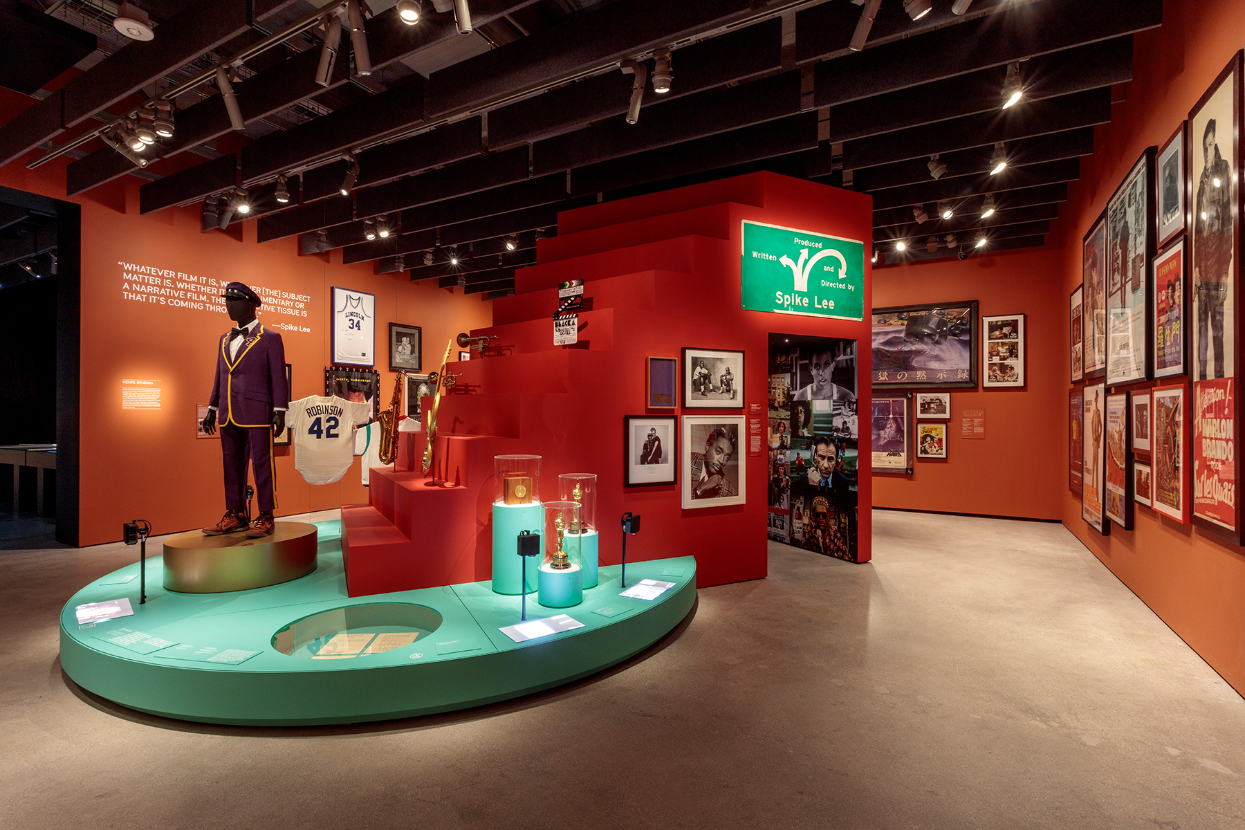 spike lee museum of motion picture academy