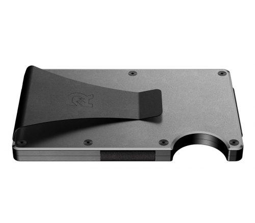 minimalist wallet metal ridge